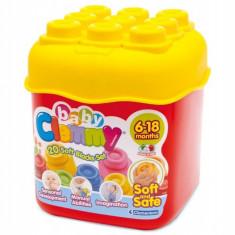 Clemmy - Set 20 Cuburi In Cutie Clementoni
