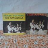 Muzica Populara electrecord, VINIL - Vand colectie placi pick-up fratii petreus