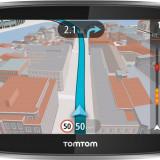 Navigatie tomtom GPS TOMTOM GO 500 Sistem navigatie TomTom Go 500 SpeakGo, 5 inch, Comanda vocala, Touch-screen display, Incarcator auto, Memorie extensibila