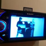 DVD Player auto - Dvd auto 1din, mp3, ecran 4inci, iesire de card si usb