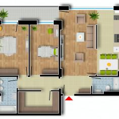 Apartament de vanzare, 3 camere, Etajul 7, An constructie: 2016, Suprafata: 122 - Apartament NOU, Cartier Prima Residence Oradea, 3 camere-PRAGA, 72539Eur