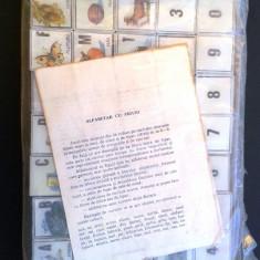 ALFABETAR CU FIGURI anii'80 JOCUL ESTE SIGILAT - Jocuri Litere si Cifre