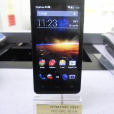 Vodafone 889n (lef) - Telefon mobil Vodafone, Negru, 4GB, Quad core, 512 MB