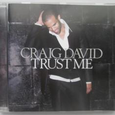 Craig David – Trust Me _ cd, album _ UK - Muzica R&B warner