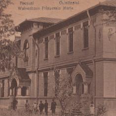 FOCSANI, ORFELINATUL PRINCIPESA MARIA, CIRCULATA NOV.''920 - Carte Postala Moldova dupa 1918, Printata