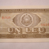 1 leu 1966 UNC