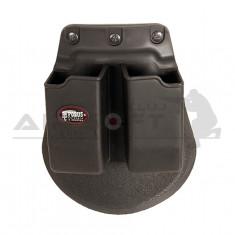 Portincaractor dublu Glock Fobus
