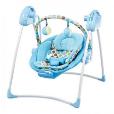 Balansoar Electric Baby Mix Sw108007 Blue - Leagan