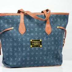 Geanta Dama Louis Vuitton, Bumbac - Geanta / Poseta de umar sau de mana Louis Vuitton LV + Cadou Surpriza