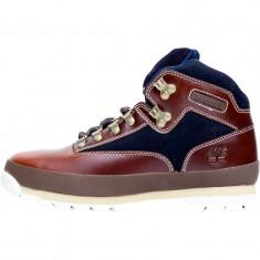 Bocanci originali Timberland Mens Euro Hiker Boots Brown - Marimea 44 - Bocanci barbati Timberland, Culoare: Din imagine