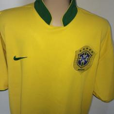 Tricou fotbal NIKE BRAZILIA Nationala - Set echipament fotbal Nike, Marime: XL