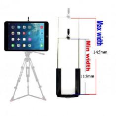 Suport adaptor tableta / telefon pt trepied filet 1/4 universal