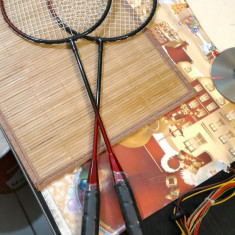 Rachete Baminton Set 2 buc - Badminton