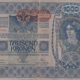 Bancnota Straine, Europa, An: 1902 - AUSTRIA 1.000 kronen 1902 VF-/VF!!!