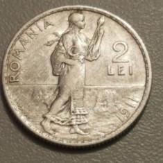 Monede Romania, An: 1911, Argint - 2 LEI 1911 ARGINT
