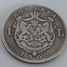 Monede Romania, An: 1900, Argint - 1 LEU 1900 ARGINT