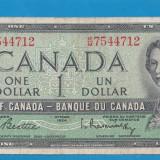 Canada 1 dollar 1954 3