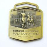 MBDSP1 - MEDALIE - SPORT - BUCURESTI - MARATON - Medalii Romania, An: 2014