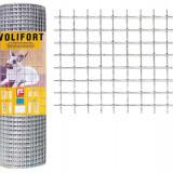 Plasa de gard zincata Volifort 0.5x10m 0.9x16x16mm