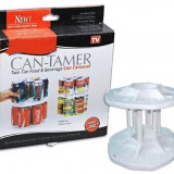 Bucatarie - Organizator rotativ cutii tip conserve CAN-TAMER