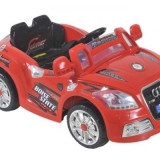 Masinute electrice agrement cu 2 viteze acumulator si telecomanda pentru copii replica Audi HC2188 12V