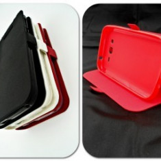 Husa Telefon - Toc FlipCover Stand Magnet LG G3 Rosu