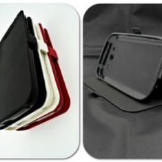 Husa Telefon - Toc FlipCover Stand Magnet LG G5 NEGRU