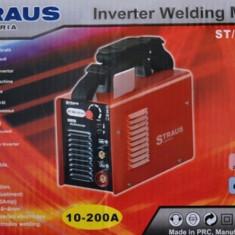 Invertor sudura - Aparat de sudura cu invertor 10-200 A Straus Austria