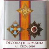 DECORATII ROMANIA A.I. Cuza - 2010, Constantin Ciurea, 2011. Dedicatie, autograf