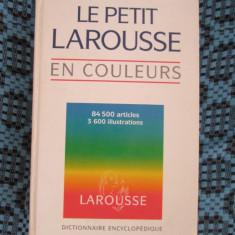 LE PETIT LAROUSSE EN COULEURS (1995 - STARE FOARTE BUNA!!!) - Dictionar ilustrat