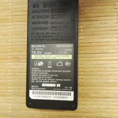 Alimentator Sony 19, 5V 4, 7A Model VGP-AC19V14 - Incarcator Laptop Sony, Incarcator standard