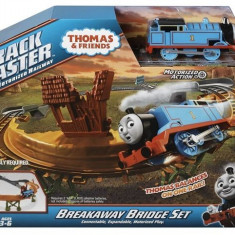 Set circuit Thomas&Friends Track Master - Breakaway Bridge - Trenulet de jucarie Fisher Price