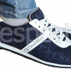 Adidasi Tenesi - Calvin Klein - Model Casual - Model NOU - Pret special - - Adidasi barbati Calvin Klein, Marime: 41, 42, Culoare: Din imagine, Textil