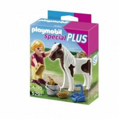 Fetita cu ponei Playmobil
