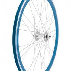 Set Roti Fixie 700, culoare albastre, spite 9x4 Cod Produs: 40706BSSKRM