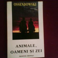 Ferdinand Ossendowski Animale, oameni si zei - Carti Budism