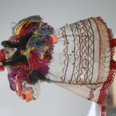 Papusa costum national ARADEANCA-vintage - Papusa de colectie