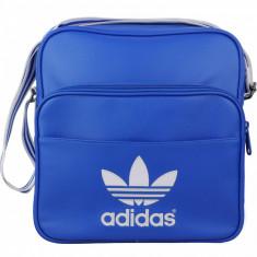 Geanta Adidas Adicolor - Originala - Dimensiuni - L28 x H29 x D10 cm - Geanta Barbati Adidas, Marime: Medie, Culoare: Din imagine
