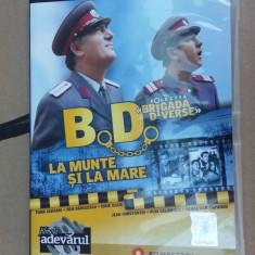 BD BRIGADA DIVERSE - LA MUNTE SI LA MARE . - Film comedie, DVD, Romana