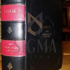EDITIA SFANTULUI SINOD - BIBLIA - ADECA DUMNEZEIASCA SCRIPTURA, BUCURESTI, 1914 - Carti Istoria bisericii