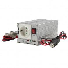 Invertor tensiune HQ, 300 W, 12-230 V, USB - Invertor Auto