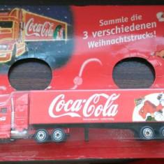 Camion Coca Cola - model Craciun 2002 2/3, 1/87, Germania (tip 006)