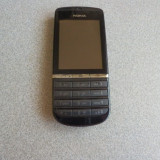 Nokia Asha 300 + Incarcator - Telefon Nokia, Negru, <1GB, Neblocat, Single core, 256 MB