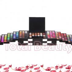 Trusa Machiaj 148 culori cu blush, concealer si ruj MAC - Trusa make up