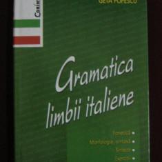 Geta Popescu - Gramatica limbii italiene - 627124 - Ghid de conversatie corint