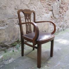 Scaun vechi de birou, antic - Mobilier