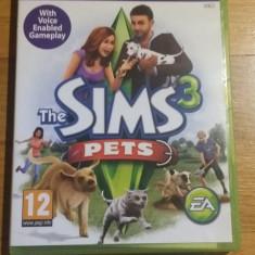 Joc XBOX 360 The Sims 3 Pets original PAL / by WADDER - Jocuri Xbox 360, Simulatoare, 12+, Single player