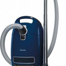 Aspirator Miele Complete C3 Celebration PowerLine, cu sac, 4, 5 l, 1200 W, tub telescopic inox, Albastru - Aspirator cu Filtrare prin Apa