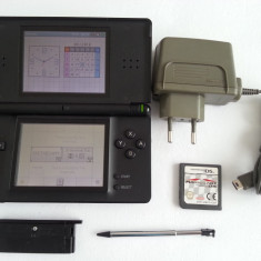 Nintendo DS Lite cu joc Mario Kart incarcator stylus capac GBA consola portabila - Consola Nintendo