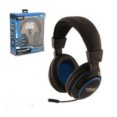 Kmd Playstation 4 Headset Pro Gamer Headset Black - Consola PlayStation